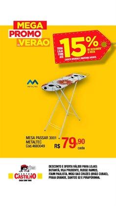 Ofertas Material de Construção no catálogo Center Castilho em São Caetano do Sul ( 2 dias mais )