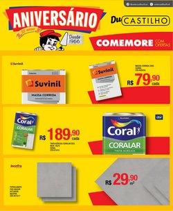 Ofertas de Material de Construção no catálogo Center Castilho (  3 dias mais)