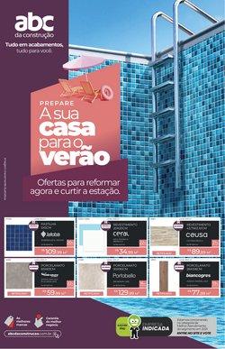 Ofertas de Material de Construção no catálogo ABC da Construção (  3 dias mais)