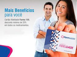 Promoção de Farma 100 no folheto de São Paulo