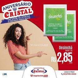 Ofertas de Farmácias e Drogarias no catálogo Drogaria Cristal (  3 dias mais)