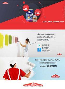 Ofertas de Casa E Tinta no catálogo Casa E Tinta (  Vence hoje)