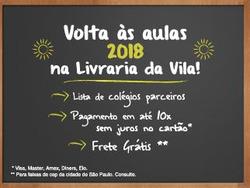 Promoção de Livraria, papelaria, material escolar no folheto de Livraria da Vila em Curitiba