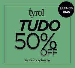 Promoção de Tyrol no folheto de São Paulo