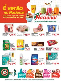 Ofertas Supermercados no catálogo Nacional em Montenegro ( 2 dias mais )