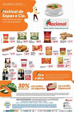 Ofertas de Supermercados no catálogo Nacional (  10 dias mais)