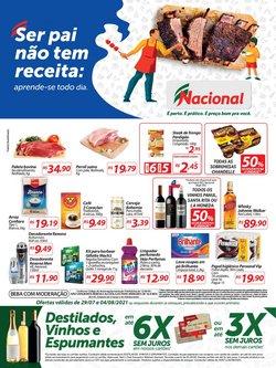 Ofertas de Supermercados no catálogo Nacional (  Publicado ontem)
