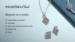 Promoção de Joalheria no folheto de Pandora em São Carlos