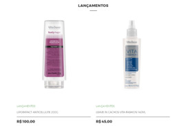 Promoção de Perfumarias e beleza no folheto de Vita Derm em Aracaju