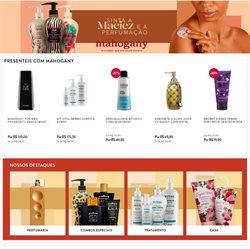 Ofertas Perfumarias e Beleza no catálogo Mahogany em Juazeiro ( 2 dias mais )