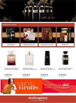 Ofertas de Perfumarias e Beleza no catálogo Mahogany (  8 dias mais)