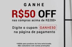 Promoção de Shoestock no folheto de São Paulo