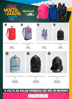 Ofertas Roupa, Sapatos e Acessórios no catálogo Le Postiche em São Roque ( 7 dias mais )
