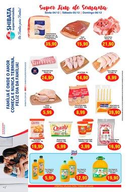 Ofertas de De em Shibata Supermercados