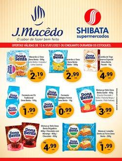 Catálogo Shibata Supermercados em São Paulo ( Mais de um mês )