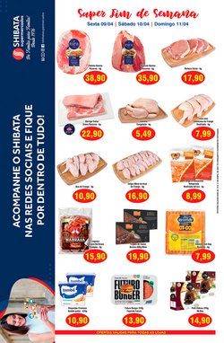 Catálogo Shibata Supermercados em São José dos Campos ( Vence hoje )