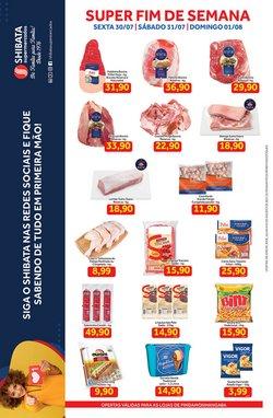 Ofertas de Supermercados no catálogo Shibata Supermercados (  Publicado hoje)