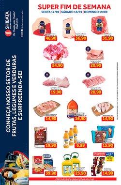 Ofertas de Shibata Supermercados no catálogo Shibata Supermercados (  Válido até amanhã)