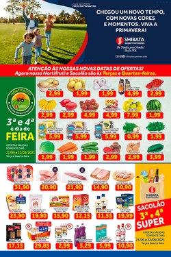 Ofertas de Supermercados no catálogo Shibata Supermercados (  Publicado ontem)