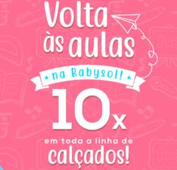 Promoção de Babysol no folheto de São Paulo