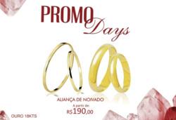 Promoção de Diamond & Iraws no folheto de Belo Horizonte