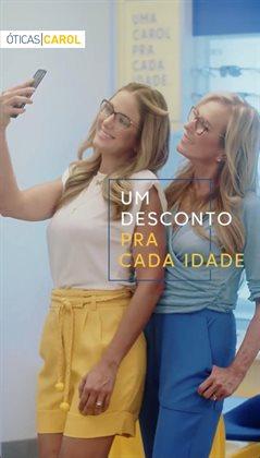 Ofertas Óticas no catálogo Óticas Carol em São Roque ( Mais de um mês )