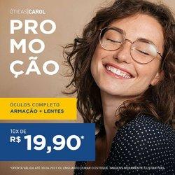 Ofertas de Óticas Carol no catálogo Óticas Carol (  Publicado hoje)