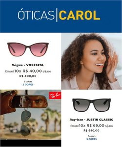 Ofertas de Óticas Carol no catálogo Óticas Carol (  Válido até amanhã)