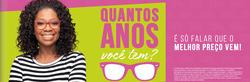 Promoção de Óticas e centros auditívos no folheto de Óticas Carol em Belo Horizonte