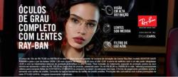 Promoção de Óticas e centros auditívos no folheto de Óticas Carol em Recife
