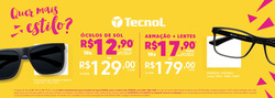 Promoção de Óticas e centros auditívos no folheto de Óticas Carol em Nova Iguaçu