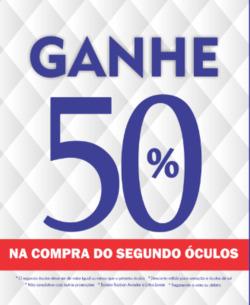 Promoção de Óticas do Povo no folheto de São Paulo