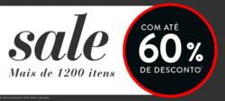 Promoção de Paquetá no folheto de Porto Alegre