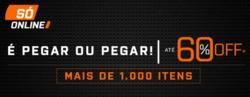 Promoção de Paquetá Esportes no folheto de Niterói