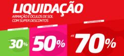 Promoção de Óticas e centros auditívos no folheto de Fototica em São Paulo