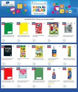 Ofertas Livraria, Papelaria e Material Escolar no catálogo Livrarias Curitiba em Suzano ( 10 dias mais )