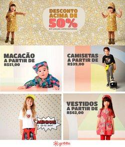 Ofertas de Brinquedos, Bebês e Crianças no catálogo Green by Missako (  8 dias mais)