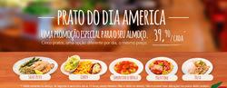 Promoção de America no folheto de São Paulo