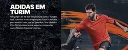Promoção de Adidas no folheto de Rio de Janeiro