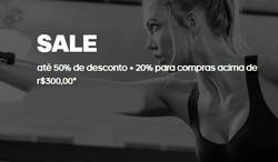 Promoção de Esporte e lazer no folheto de Adidas em São Bernardo do Campo