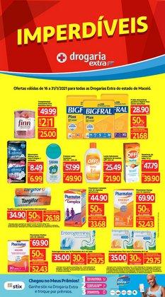 Ofertas Farmácias e Drogarias no catálogo Drogaria Extra em Maceió ( 9 dias mais )