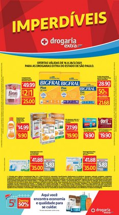 Ofertas Farmácias e Drogarias no catálogo Drogaria Extra em Santos ( 3 dias mais )