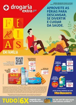Ofertas de Extra no catálogo Drogaria Extra (  6 dias mais)