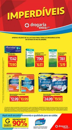 Ofertas de Farmácias e Drogarias no catálogo Drogaria Extra (  6 dias mais)