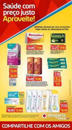 Ofertas de Farmácias e Drogarias no catálogo Drogaria Extra (  Mais de um mês)