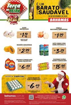 Catálogo Bahamas Supermercados em Uberlândia ( Vence hoje )