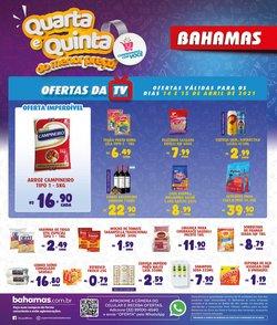 Ofertas Supermercados no catálogo Bahamas Supermercados em Juiz de Fora ( Válido até amanhã )