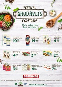Ofertas Supermercados no catálogo Bahamas Supermercados em Uberlândia ( Publicado ontem )