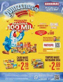 Ofertas de Supermercados no catálogo Bahamas Supermercados (  2 dias mais)