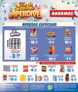 Ofertas de Bahamas Supermercados no catálogo Bahamas Supermercados (  Vencido)